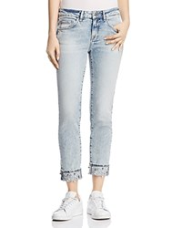 Mavi Jeans Ada Cuff Straight In Reversed Pearl