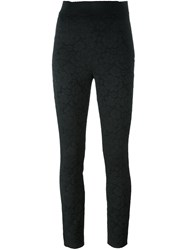 Dolce And Gabbana Lace Leggings Black
