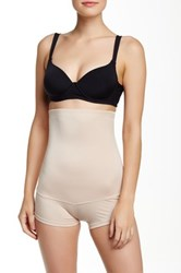 Heavenly Secrets High Waist Leg Slimmer Plus Size Available Beige