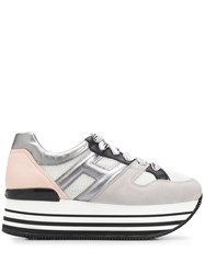 Hogan Panelled Platform Sneakers 60