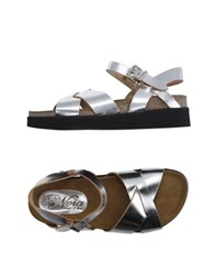 Nora Footwear Sandals Women Silver