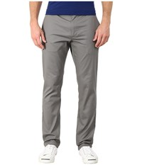 Rvca The Week End Stretch Pants Smoke Casual Pants Gray