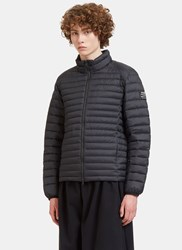 Ecoalf Beret Quilted Down Jacket Black