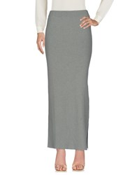Bruno Manetti Skirts Long Skirts Military Green