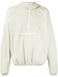 Yeezy Duck Egg Hooded Lightweight Jacket Neutrals