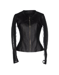 Philipp Plein Couture Jackets Black
