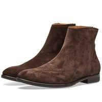 Paul Smith Jean Zip Boot Brown