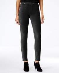 Styleandco. Style Co. Corduroy Leggings Only At Macy's Deep Black