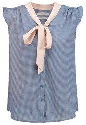 Teddy Smith Clea Shirt Light Blue