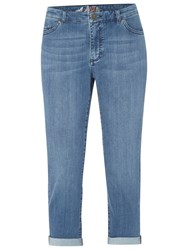 White Stuff Southern Ocean Cropped Jeans Mid Denim