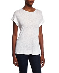 Frame Le Muscle Round Neck Tee Size Large Off White