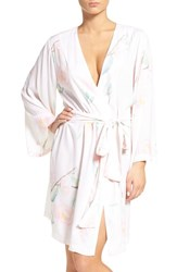 Plum Pretty Sugar Women's Oracle Floral Print Kimono Robe