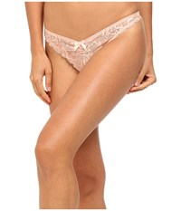 Agent Provocateur L'agent By Leola Thong Fawn Underwear Beige