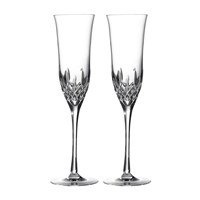 Waterford Lismore Essence Champagne Flute Set Of 2