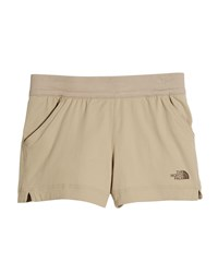 The North Face Aphrodite Lightweight Hiking Shorts Beige
