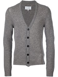 Maison Martin Margiela V Neck Cardigan Grey