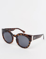 Cheap Monday Chunky Sunglasses Dark Turtle Brown