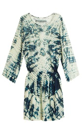Raquel Allegra Tie Dye Silk Dress