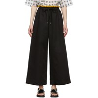 Marni Black Wide Trousers