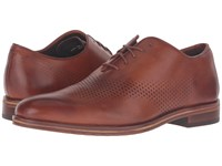 Cole Haan Washington Grand Laser Wing Oxford British Tan Chestnut Men's Lace Up Casual Shoes Brown