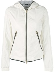 Duvetica Fitted Lightweight Jacket Women Cotton Feather Down Polyamide Feather 44 Nude Neutrals
