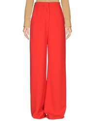 Alex Vidal Casual Pants Red