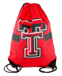 Forever Collectibles Texas Tech Red Raiders Team Stripe Drawstring Bag