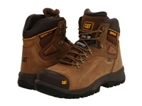 Caterpillar Diagnostic Hi Wp Dark Beige Men's Work Boots Brown