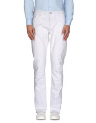 Seal Kay Independent Trousers Casual Trousers Men White