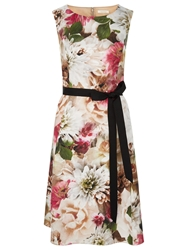 Kaliko Bouquet Flora Prom Cotton Dress Multi