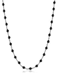 David Yurman Rosary Bead Necklace