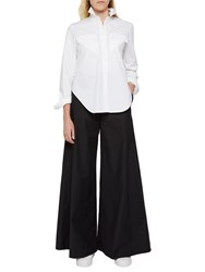 French Connection Ria Flare Trousers Black