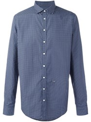 Dsquared2 Crescent Moon Shirt Blue