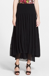 Zzdnu Jean Paul Gaultier Jean Paul Gaultier Long Tiered Tulle Skirt Black