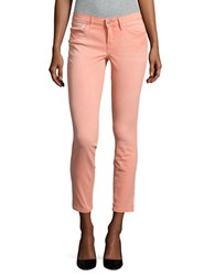 Jessica Simpson Forever Rolled Skinny Jeans Orange