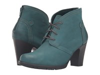 Rockport Cobb Hill Keara Teal Women's Boots Blue