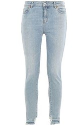 Iro Woman High Rise Skinny Jeans Light Denim