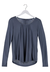 Marc O'polo Long Sleeved Top Powder Blue Blue Grey
