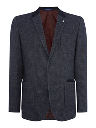Peter Werth Blythe Button Blazer Navy