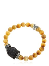 Cantini Mc Firenze Buddha Onyx And Tiger's Eye Bracelet