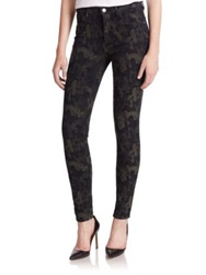 Made Gold Camouflage Print Skinny Jeans Maria