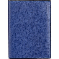 Valextra Passport Holder Royal Blue