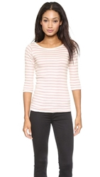 Edith A. Miller Boat Neck 3 4 Tee
