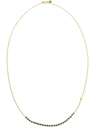 Natasha Collis 18K Gold And Black Diamond Necklace