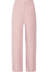 Acne Studios Marsy Twill Wide Leg Pants