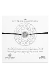 Dogeared Women's The New Beginnings Mandala Bracelet Silver