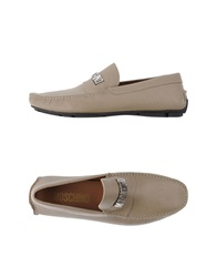 Moschino Moccasins Dove Grey