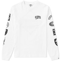 Billionaire Boys Club Long Sleeve Aviation Print Tee White