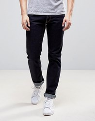 Love Moschino Regular Fit Jeans In Indigo Wash Navy