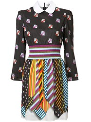Mary Katrantzou Patterned Shirt Dress Black